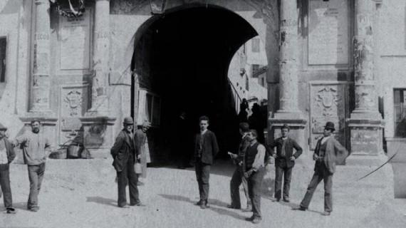 <strong>Ottocento</strong>. L'Italia dopo l'unità. Vedute di città italiane dal 1860 al 1890