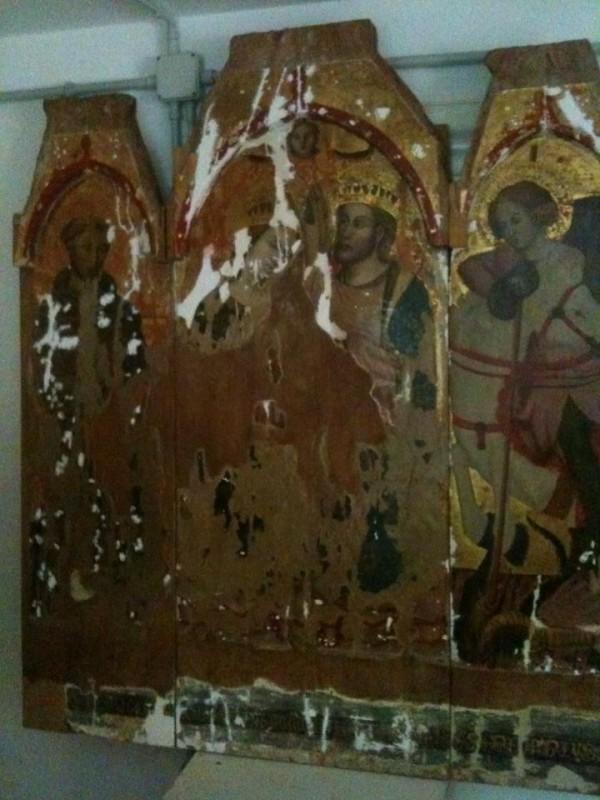 <strong>Castelvetrano </strong>. Torna il «Trittico dell'Annunciazione» restaurato dal maestro Franco Fazio