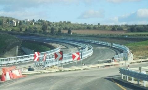 <strong>Infrastrutture</strong>. Provincia di Agrigento, Ss 640 proseguono spediti i lavori di adeguamento