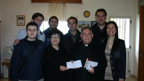 <strong>Sciacca</strong>. Mensa della solidarietà donazione di 500 euro