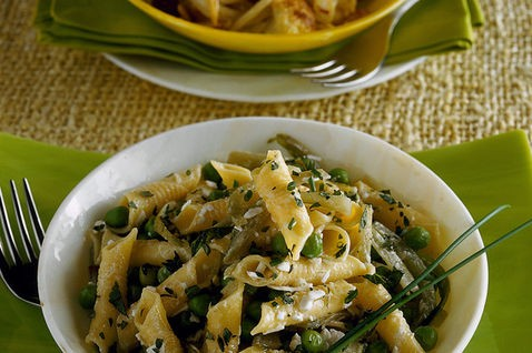 <strong>Pasta con il cavolfiore e la ricotta</strong>. Un primo piatto sempre fresco e rapido nell'esecuzione