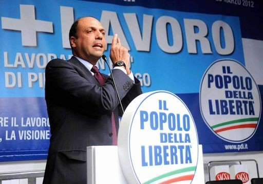 <strong>Alfano</strong>. Nessuno spezzettamento del Pdl e in Sicilia convintamente all'opposizione