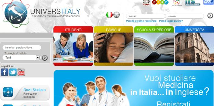 <strong>Universitaly</strong>. Gli Atenei italiani a portata di mouse