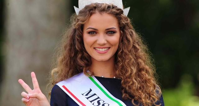 Giusy Buscemi, Miss Italia siciliana «Non sono solo bella, farò l'attrice»