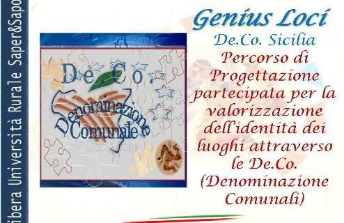 <strong>GeniusLoci De.Co. Sicilia</strong>. Percorso di progettazione partecipata per salvaguardare l'identità di un territorio