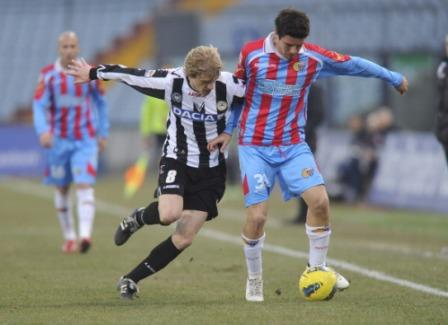 <strong>Udinese-Catania</strong>, ultime e probabili formazioni