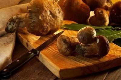 """<strong>Fusilli con funghi e salsiccia piccante</strong>. Una ricetta per """"sua maestà il porcino"""""""