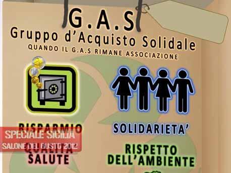 """<strong>Salone del Gusto e Terra Madre 2012</strong>. Slow Food Sicilia e """"Gas e Ecogastronomia"""""""