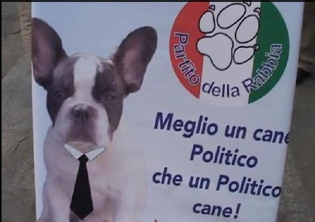 """<strong>Favara</strong>. """"Meglio un cane politico che un politico cane: vota Stefano!"""""""