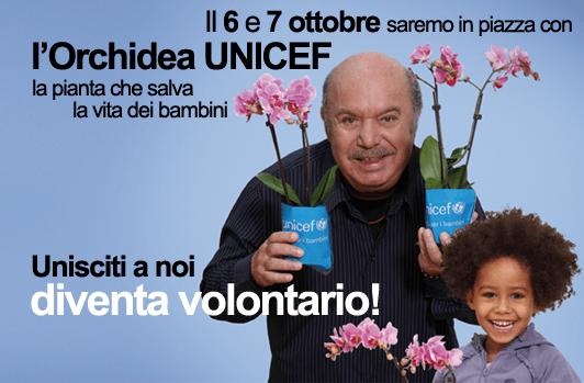 <strong>Solidarietà</strong>. Croce Rossa Italiana con UNICEF per l'Orchidea della ricerca 2012