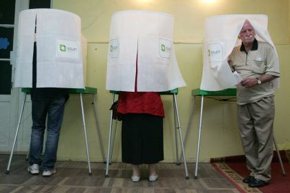 <strong>Il voto in Georgia</strong> il tempo giusto della democrazia