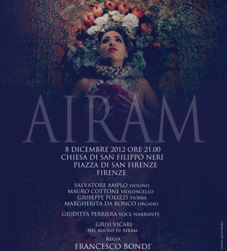 Con <strong>Airam</strong> va in scena la maestria creativa di Francesco Bondì e Mauro Cottone