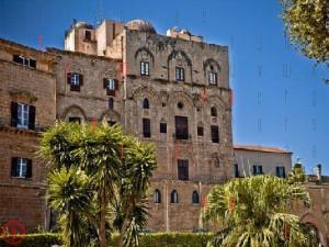 Palazzo dei Normanni a Palermo, sede dell'Assemblea regionale siciliana.