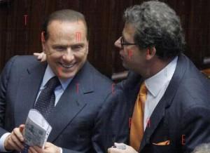 Berlusconi con Miccichè
