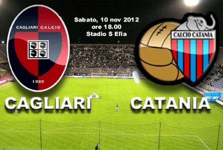 <strong>Serie A, Cagliari-Catania</strong>: le probabili formazioni