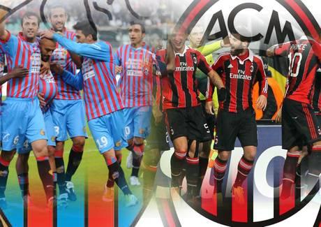 <strong>Stasera l'anticipo</strong> Catania-Milan