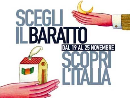 <strong>Settimana del Baratto</strong>. Dormi gratis nei B&B, dal 19 al 25 novembre 2012, se porti qualcosa