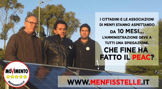 """I Cittadini attivi del Meetup """"Menfi 5 stelle"""" sollecitano l'Amministrazione comunale a rispondere alla lettera d'informazione inviata mesi fa."""