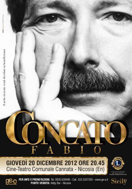 """Tutto pronto per il tour di Fabio Concato """"Tutto Qua"""""""