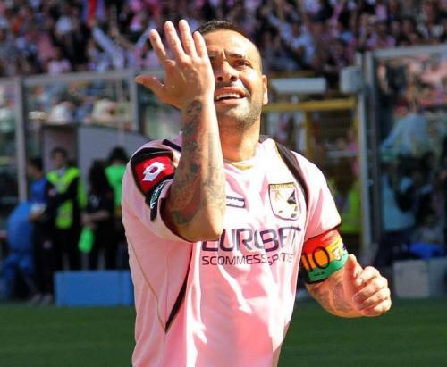 <strong>Fabrizio Miccoli</strong> chiude la storia rosanero