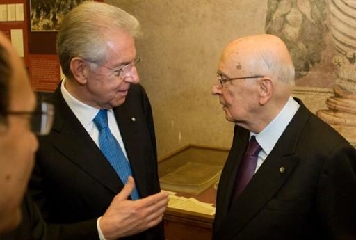 """<strong>Monti</strong>: """"Dimissioni dopo la legge di stabilità"""""""