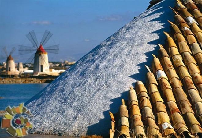 Il <strong>sale marino di Trapani</strong> ha il marchio Igp
