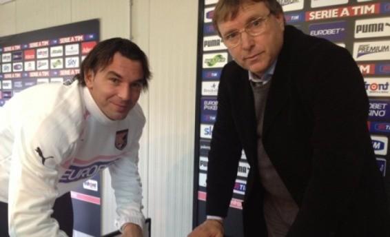 """<strong>Calciomercato rosanero</strong>: Aronica, """"Orgoglioso di essere qui"""""""