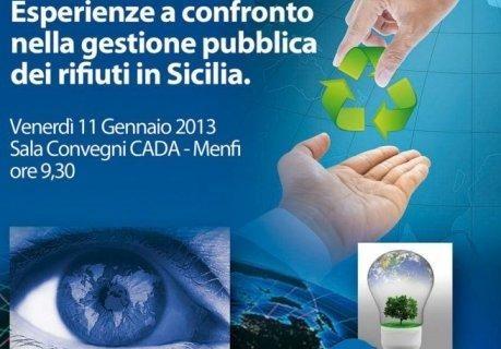 """<strong>Menfi</strong>. Convegno Sogeir: """"Esperienze a confronto nella gestione pubblica dei rifiuti in Sicilia"""""""