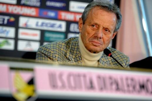 """La <strong>paura-retrocessione</strong> dei supporter del Palermo. Zamparini ai tifosi """"Non seminate odio"""""""