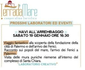 Palermo. Laboratorio ludico-culturale  'Navi all'arrembaggio'