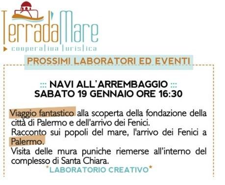 """<strong>Palermo</strong>. Laboratorio ludico-culturale """"Navi all'arrembaggio"""""""