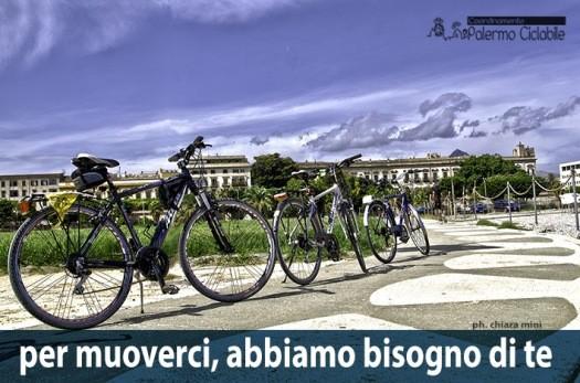 <strong>Palermo</strong>. BCultura: Gazebo e pedalata cittadina