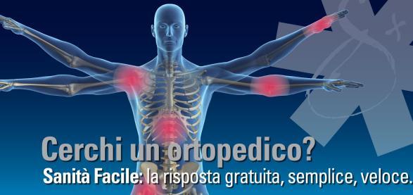 <strong>Problemi ortopedici?</strong> Le risposte su un portale