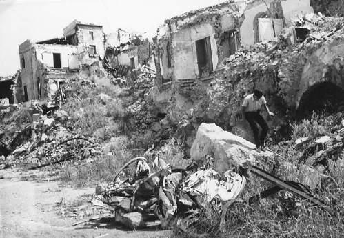 <strong>Sambuca di Sicilia</strong>. Si ricorda il terremoto