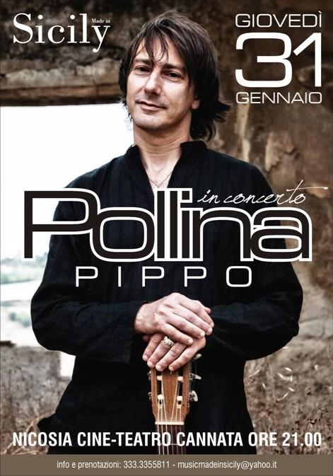<strong>Nicosia</strong>. Grande attesa per il ritorno di Pippo Pollina