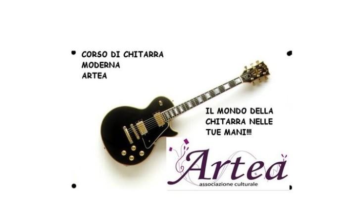 Corso di Chitarra Moderna <strong>Artea</strong> … base e avanzato