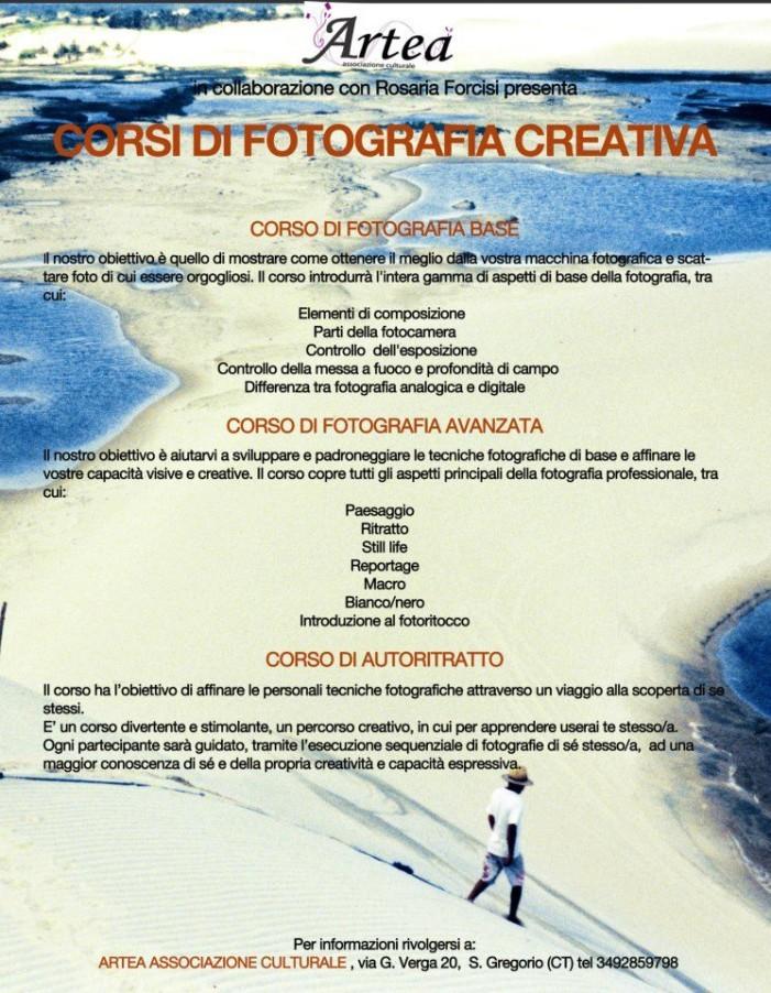 Corso di Fotografia Creativa <strong>Artea</strong>
