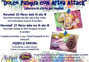Dolce Pasqua con Artea Attack
