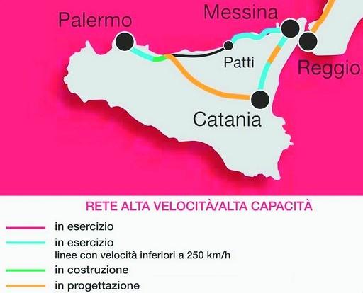 <strong>Grandi opere</strong>. Così si viaggerà in treno in Sicilia