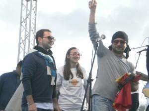 1° maggio 2011 a Porto Palo di Menfi - Premiazione ai Kolaband