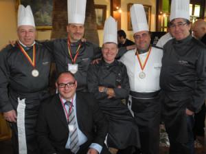 Alcuni Chef con Angelo Franzò