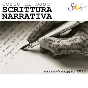 Corso di base di scrittura narrativa edizione 2013, condotto da Beatrice Agnello e Mario Valentini, organizzato da Sabir in collaborazione con la Libreria Modusvivendi