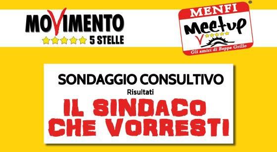 """<strong>Menfi</strong>. Sondaggio Consultivo del MoVimento 5 Stelle """"Il Sindaco che Vorresti"""": i risultati"""