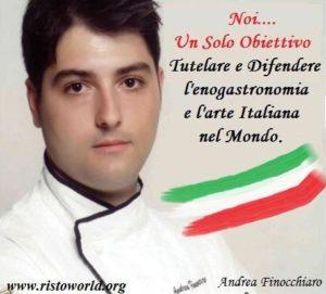 Il catanese Andrea Finocchiaro ha creato un'associazione internazionale
