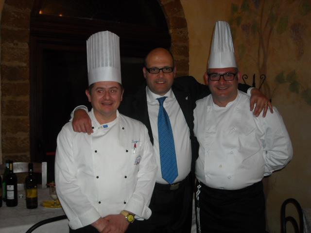 """<strong>Baglio Elia a Castelvetrano</strong>: La cena, """"calici di Emozioni: Cucina d'Autore, Vino, Fotografia e Jazz"""""""