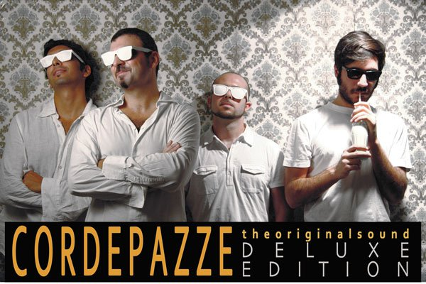 <strong>CordePazze</strong>, canzone d'autore e mix pop