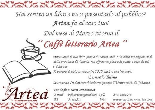 Il Caffè Letterario <strong>Artea</strong>