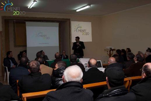 <strong>Menfi</strong>. Serata di presentazione del Movimento civico MENFI2020