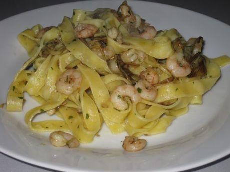 Linguine carciofi e gamberetti, <strong>la ricetta</strong>