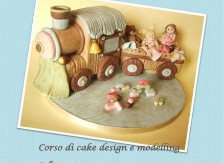 """Corso di Cake Design e Modelling <strong>Artea</strong> """"Sweet Train"""""""